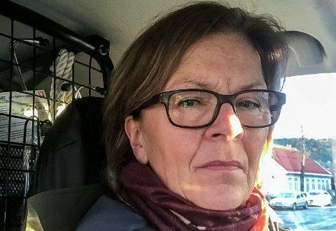 OPPRØRT: – Jeg føler til tider at jeg kjører med livet som innsats når jeg skal på hytta, sier  Ragnhild Thorrud