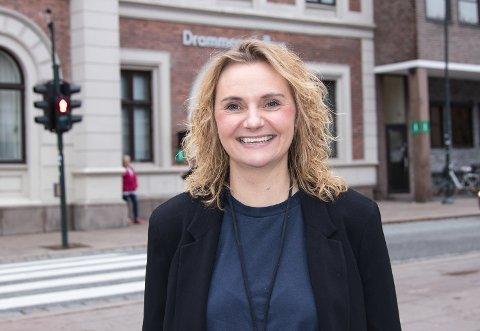 HOLDER FORTET: Line S. With blir kommuneadvokat mens Ingvild Bråthen har permisjon.