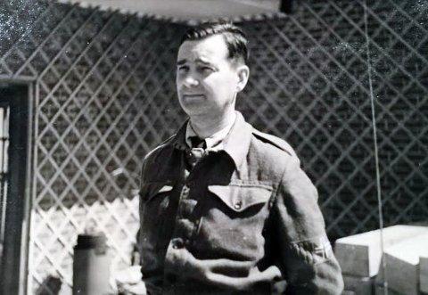 MOTSTANDSMANN: Ahlert Horn alias «Pettersen», «Jacob» og «Victor». Distriktssjef for området mellom Eggedal og Svelvik og en av Drammens fremste motstandsmenn som blant annet avlyttet det tyske og hemmelige stats- og nazipolitiet Gestapo.