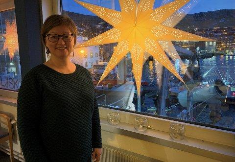 NYTT PROSJEKT: Avdelingsleder Heidi Holmgren leter etter unge mennesker med tilhørighet til Nordkapp.