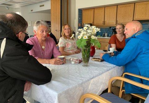 Det var flere som samlet seg på Nordkappmuseet for å feire en spesiell 70-års dag.
