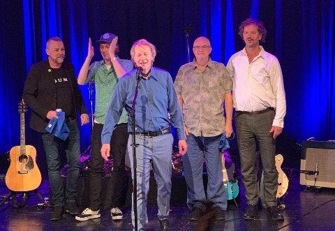 DELILLOS: Lars Lundevall, Lars Lillo-Stenberg, Øystein Paasche og Lars Fredrik Beckstrøm.