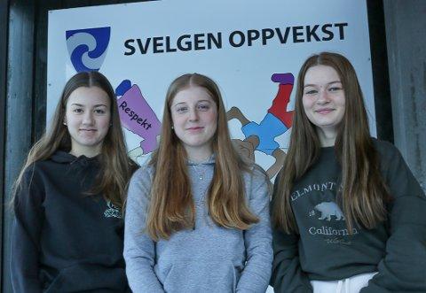 VANN FRAM Idun LInd Håøy, Ida Bueie og Henriette Holm Nesbø meinte det var urettferdig at dei ikkje får nærskulepoeng ved å søke på idaregåande skule i Førde.