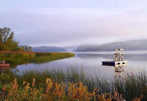 Utetrening: Visterflo kan bli stedet for Nylendes svømmeopplæring.