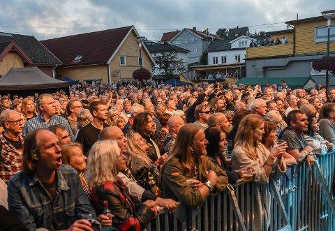 Bildet er fra i fjor da Uriah Heep besøkte  Gressvik Summerparty.