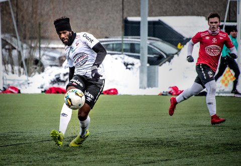 IMPONERTE: Tross dårlig med matchtrening, så viste Bocar Seck at han kan bli en nyttig tilvekst for FFK denne sesongen.
