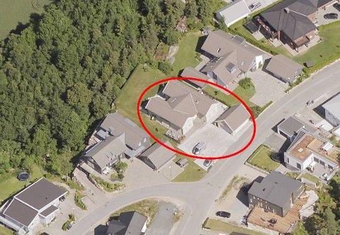 DYREST: Tyttebærsvingen 6 ble solgt for hele 11 millioner kroner i november. Det gjør boligen til den dyreste så langt denne måneden.