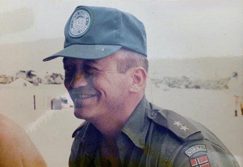 Geir Olav Stamnes har tjenestegjort i tre kriger: Gulfkrigen, Somalia og Jugoslavia. Her fra oppdrag i Somalia.
