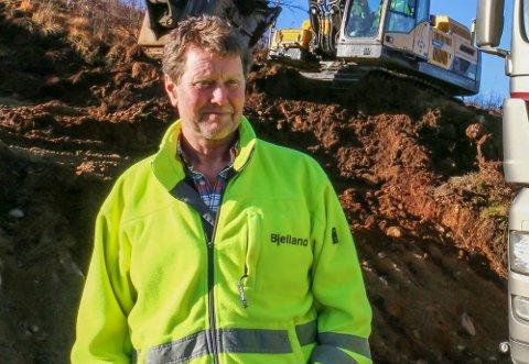 Ole Bjelland håper tro på et godt år for selskapet (arkivfoto: Filip Blaauw).
