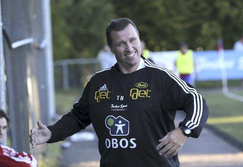 STERKT PRESS: Tidligere KIL-trener Tom Nordlie tror ikke noe på at ikke Per-Mathias Høgmo er preget av presset fra omgivelsene.