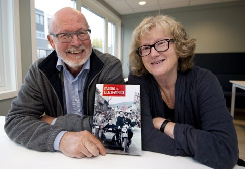 Live Sætre og Geir Linberg - redaktører av Årbok for Fåberg og Lillehammer Historielag *** Local Caption *** - Foto: Torbjørn Olsen