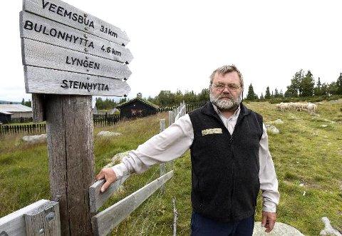 FJELLVOKTEREN: Edgar Enge slutter som fjelloppsyn og daglig leder i Øyer fjellstyre.