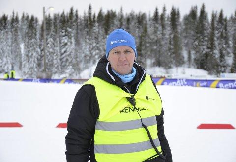 FRIVILLIGE: Rennleder på Hovedlandsrennet, Terje Nilsen, ønsker seg flere frivillige til Hovedlandsrennet. Arkivfoto
