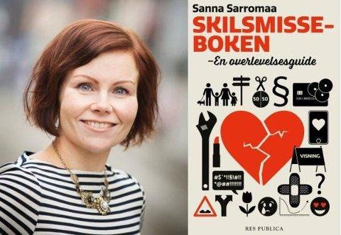 KOMMER TIL GLASSLÅVEN: Sanna Sarromaa besøker Hadeland for å snakke om skilsmisse.