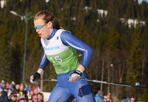 INTERNASJONAL: Anna Heggen fra Harestua er uttatt til Ungdoms-OL.