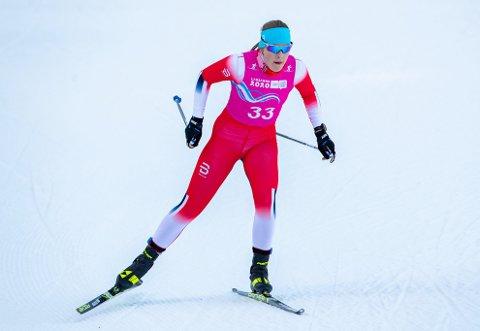 2. PLASS: Anna Heggen gikk inn til andreplass på Lygna i dag. Hun måtte se seg slått av Emma Kirkeberg Mørk fra Drammen.