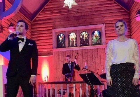 JULEKONSERT: Kristoffer og Karin arrangerer julekonsert i år også