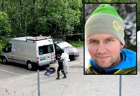 KRISTIAN LØVLIE (1985 - 2020): ble 34 år gammel. Han bodde på Rotnes med samboer og tre barn. Foto: Christer Spaberg/Privat