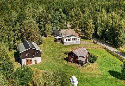 SOLGT: Småbruket i KJølvegen i Brandbu er nå solgt.