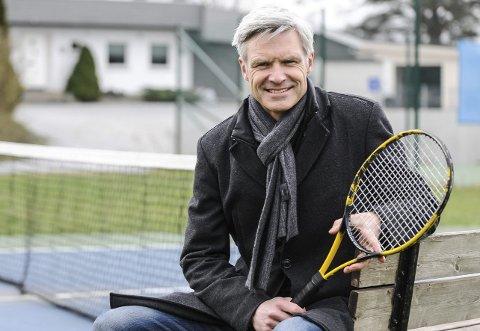 TILBAKE PÅ STRUPE: Geir Sjøberg (48) var en av Norges beste tennisspillere. I dag har han en av landets mest framskutte jobber innenfor diplomatiet, som fagdirektør i Utenriksdepartementet.