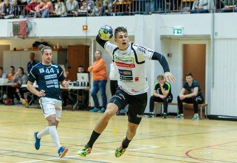 LØP OG LØP: William Nielsen-Nygaard løp Falk i senk med sju scoringer.