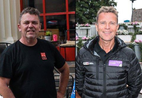 KAN VINNE: Trond Henriksen og Roy Moberg er to av fire finalister til Østfoldprisen 2018.