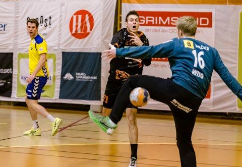 William Nilsen-Nygaard i aksjon mot Bækkelaget.