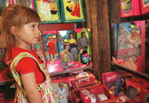 Barbie-dukken har vært et leketøy for barn over hele verden i mange generasjoner. Foto: Illustrasjonsfoto: (Scan-Foto: Tor Richardsen)