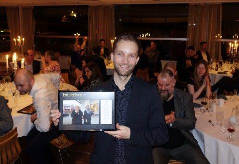 BILDEPRIS: Fotoprisen 2017 gikk til Paul André Sommerfeldt (Hnytt) for bildet «Erna og Kanutta».