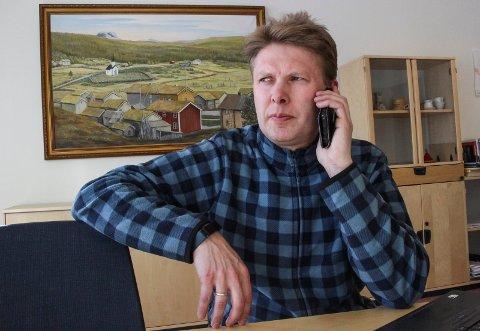 Harald Lie, ordfører i Hattfjelldal deltar i en høring om rovvilt i Stortinget