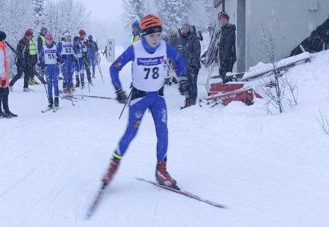 GOD DELTAKELSE: Årets første skirenn fikk god deltakelse. Kretsrennet på Tovåsen samlet 90 deltakere fra hele Helgeland. Foto: Privat