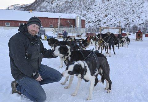 ERSTATNING: Turen til Karasjok og tilbake til Mathisdalen blir en form for erstatning for Finnmarksløpet for Kristian Walseth & co.