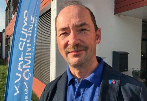 JOBBSØKER: Gunnar Lillebo, assisterende rådmann i Hammerfest, søker jobb hjemme i Lakselv.