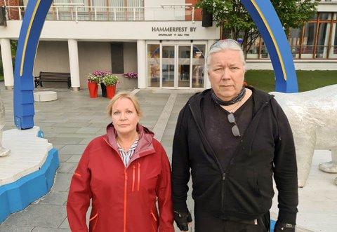 UAVHENGIGE: Heidi Marie Mauno Sletten og Tom-Kristian Tommen Hermo i Hammerfest har meldt seg ut av Arbeiderpartiet, og er fra nå uavhengige medlemmer i kommunestyret i Hammerfest.