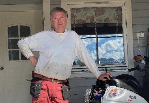 Roger Larsen fra Sandnessjøen var i en motorsagulykke i februar, og måtte på sykehus. Veien dit ble omfattende.