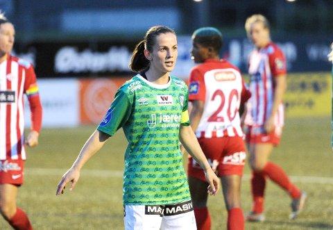 MOTGANG: Tuva Hansen er kaptein for et lag som ikke får det til.