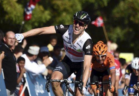 I FELTET: Edvald Boasson Hagen stiller til start når andreetappen av Tour of Norway starter ved Blindtarmen førstkommende torsdag.