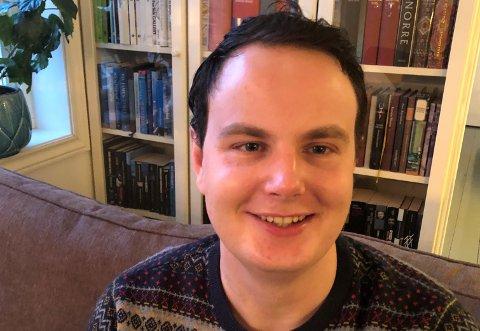 Sigurd Kjeka Wrangell er for tida busett i Trondheim, der han studerer arkeologi. (Foto: Privat).