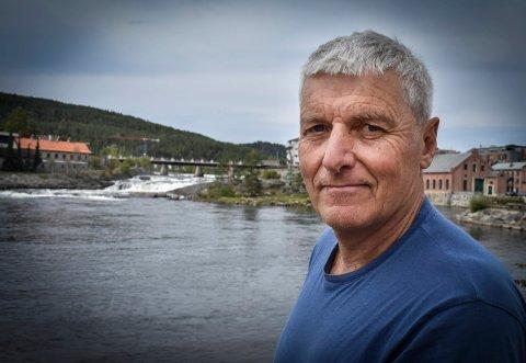 FORFATTER: Øyvind Stranna Larsen forteller om historien bak boka han lanserte i fjor.