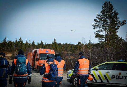 LETEAKSJON: En kvinne ble lørdag funnet omkommet på Blefjell, etter å ha vært savnet i to uker.