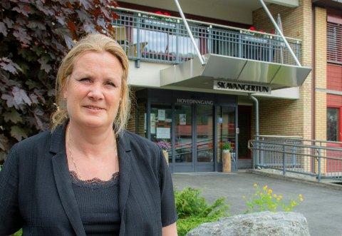NY LEDER: Lene T. Hansen er ny seksjonsleder for Institusjonstjenesten i Kongsberg kommune.