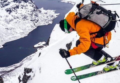 Tredje løpet: Opp og ned fjell på ski, det blir det tredje løpet i The Arctic Triple. Arkivfoto: Espen Mortensen/www.esmofoto.no/