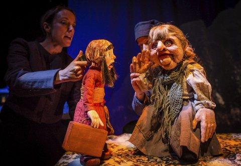 Yana og Yetien: 24. og 26. mars inviterer Pickled Image til forestillingen «Yana og den avskyelige snømannen» i Figurteateret. Begge foto: Adam DJ Laity