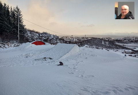 Lofoten Snowboard og Alpinsenter er straks klar til åpning.
