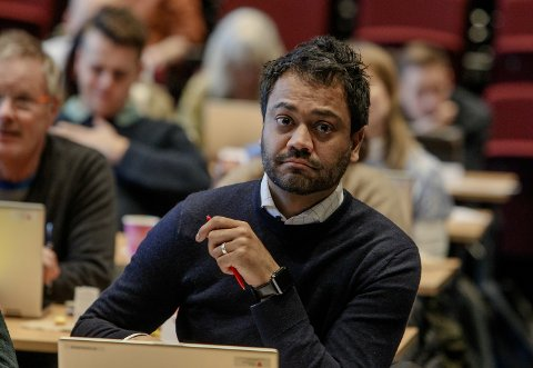 Trygge: Shakeel Rehman (Ap) var opptatt av god informasjon til innbyggerne.