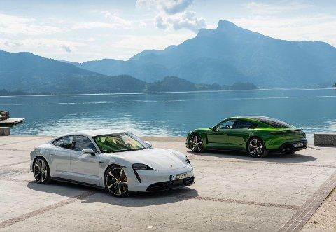 Porsche Taycan Turbo S yter opptil 761 hk, og klarer 0-100 km/t på bare 2,8 sekunder.