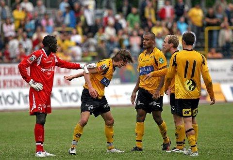 GJENSYN: Nå kan du få et gjensyn fra 2007 med Arnold Origi (f.v.), Fabien Vidalon, Daniel Reinoso, Tommy Edvardsen og Jonas Krogstad.