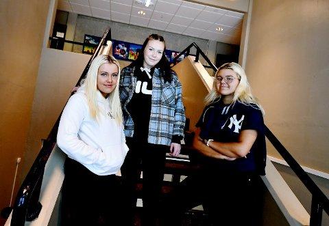Klæståk UB består av Victoria Hjellet, Mia Mariplass og Anna Spartveit.