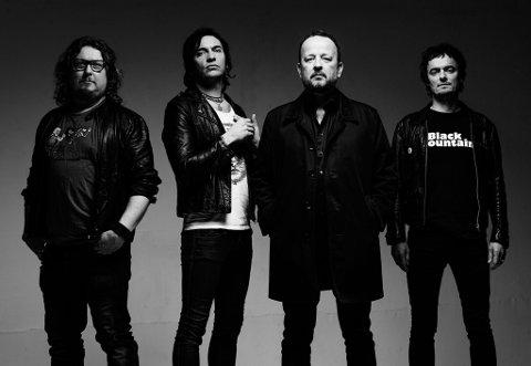 TIL BUKTA: Gluecifer er klar for Buktafestivalen i 2018. Bandet gjør comeback etter å ha lagt opp i 2005.