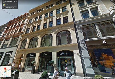 FASJONABELT: I toppetasjen av dette bygget i Oslos nye luksusgate holder Nord-Norges Hus til.